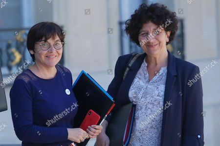 Annick Girardin, Minister for Overseas and Frederique Vidal, Ministry of Higher Education France