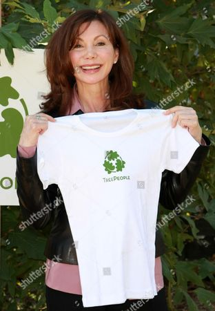 Editorial photo of Victoria Principal Press Conference at Treepeople Headquarters, Los Angeles, America - 30 Oct 2009