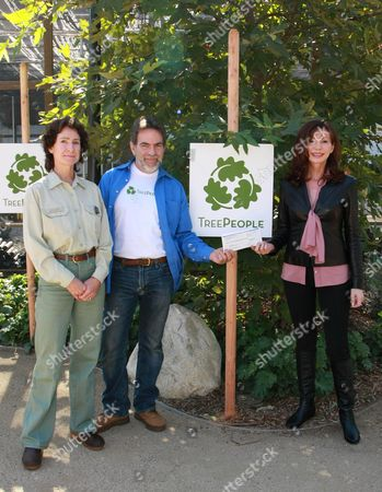 Jody Noiron, Andy Lipkis Founder of Treepeople and Victoria Principal