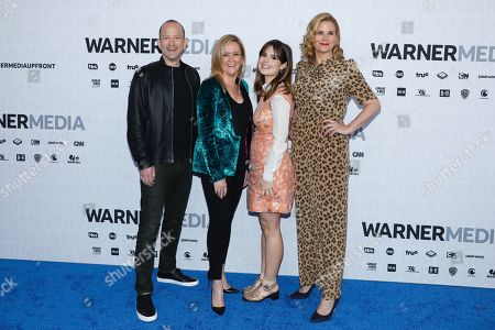 Mike Rubens, Samantha Bee, Amy Hoggart and Allana Harkin
