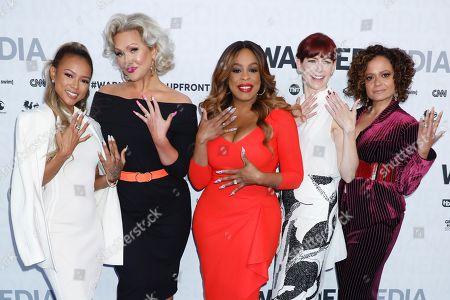 Karrueche Tran, Jenn Lyon, Niecy Nash, Carrie Preston and Judy Reyes