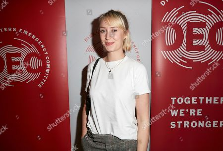 "Stock Picture of Lily Loveless attends a special screening of Chiwetel Ejiofor's film ""The Boy Who Harnessed The Wind' to raise funds for the Disasters Emergency Committee's Cyclone Idai Appeal"