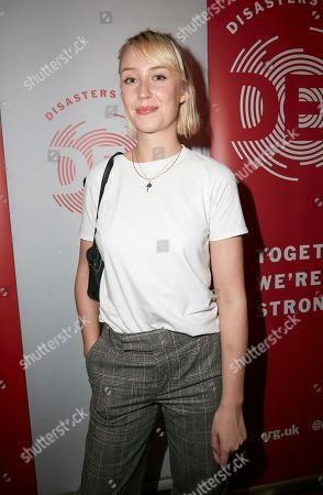 "Lily Loveless attends a special screening of Chiwetel Ejiofor's film ""The Boy Who Harnessed The Wind' to raise funds for the Disasters Emergency Committee's Cyclone Idai Appeal"