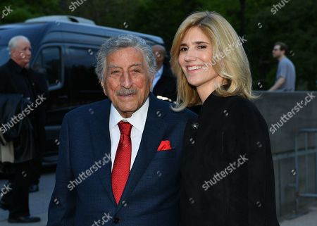 Tony Bennett and Susan Crow