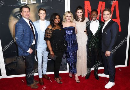 Tate Taylor, Corey Fogelmanis, Octavia Spencer, McKaley Miller, Diana Silvers, Dante Brown and Gianni Paolo