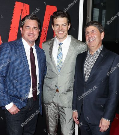 Tate Taylor, Jason Blum and Jeff Shell