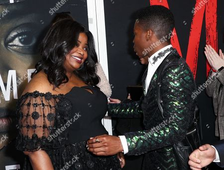 Stock Image of Octavia Spencer and Dante Brown