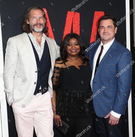 John Norris, Octavia Spencer and Tate Taylor