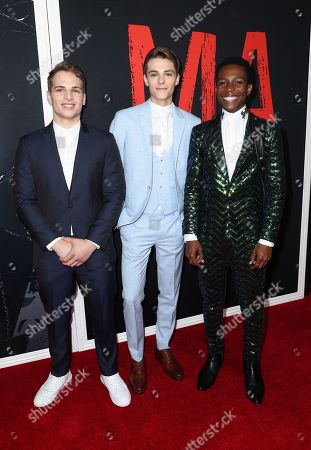 Stock Picture of Gianni Paolo, Corey Fogelmanis and Dante Brown