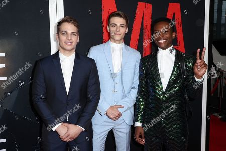 Gianni Paolo, Corey Fogelmanis and Dante Brown