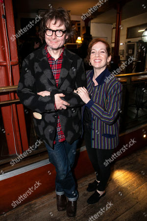 James Macdonald and Katherine Parkinson