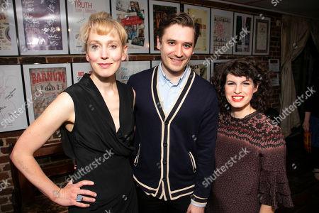 Hattie Morahan (Lady Torrance), Seth Numrich (Val Xavier) and Jemima Rooper (Carol Cutrere)