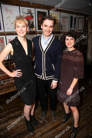 Stock Photo of Hattie Morahan (Lady Torrance), Seth Numrich (Val Xavier) and Jemima Rooper (Carol Cutrere)