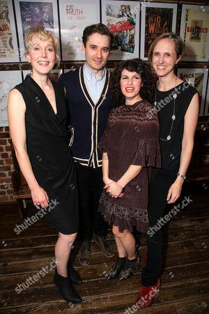 Hattie Morahan (Lady Torrance), Seth Numrich (Val Xavier), Jemima Rooper (Carol Cutrere) and Tamara Harvey (Director)