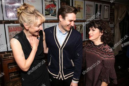 Stock Photo of Hattie Morahan (Lady Torrance), Seth Numrich (Val Xavier) and Jemima Rooper (Carol Cutrere)
