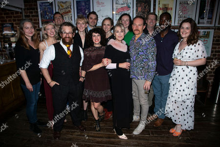Stock Picture of Jenny Livsey (Eva Temple/Woman), Catin Aaron (Beulah Binnings), Ifan Meredith (David Cutrere/Dog Hamma), Michael Geary (Pee Wee Binnings), Hattie Morahan (Lady Torrance), Seth Numrich (Val Xavier), Jemima Rooper (Carol Cutrere), Tamara Harvey (Director), Carol Royle (Vee Talbott), Carrie Quinlan (Sister/Nurse Porter), Mark Meadows (Jabe Torrance), Ian Porter (Sheriff Talbott), Valentine Hanson (Uncle Pleasant) and Laura Jane Matthewson (Dolly Hamma)