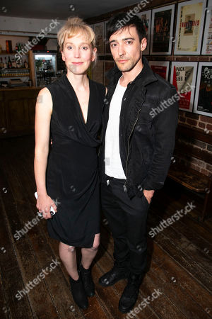 Stock Photo of Hattie Morahan (Lady Torrance) and Blake Ritson