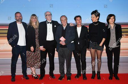 Yann Gonzalez, Katell Quillevere, John Carpenter, Dario Argento, Bertrand Bonello, Marie Ama Choukeli and Catherine Corsini