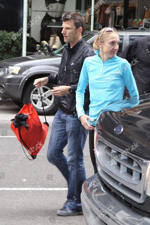 Paula Radcliffe and her husband Gary Lough