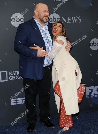 Editorial image of Walt Disney Television Upfront Presentation, Arrivals, Tavern on the Green, New York, USA - 14 May 2019