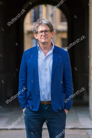 Alan Rusbridger poses for a portrait at The Queens College