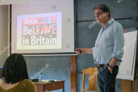 Editorial photo of Alan Rusbridger talk, Oxford, UK - 15 May 2019