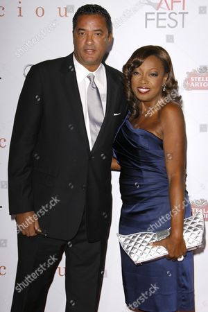 Stock Picture of Star Jones and Herb Wilson