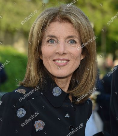 Caroline Kennedy Schlossberg attends the Statue of Liberty Museum opening celebration at Battery Park, in New York
