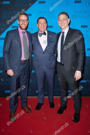 Stock Picture of Adam Max, David Binder and guest