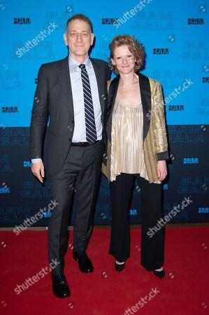 Stock Photo of David Binder and Katy Clark