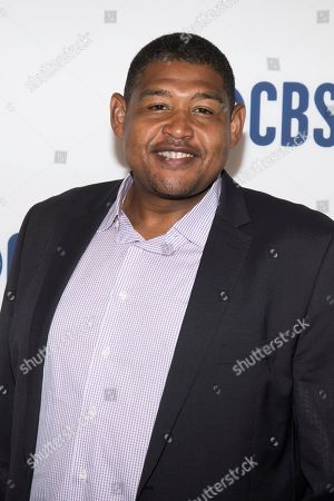 Omar Benson Miller attends the CBS 2019 upfront at The Plaza, in New York