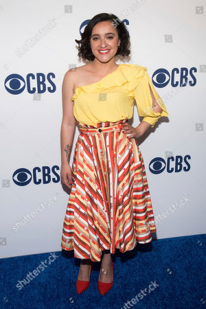 Stock Image of Keisha Castle-Hughes attends the CBS 2019 upfront at The Plaza, in New York
