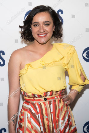 Keisha Castle-Hughes attends the CBS 2019 upfront at The Plaza, in New York