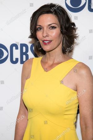 Alana de la Garza attends the CBS 2019 upfront at The Plaza, in New York