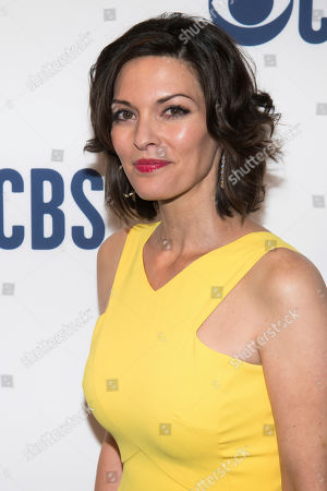 Stock Image of Alana de la Garza attends the CBS 2019 upfront at The Plaza, in New York