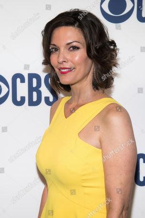 Stock Photo of Alana de la Garza attends the CBS 2019 upfront at The Plaza, in New York