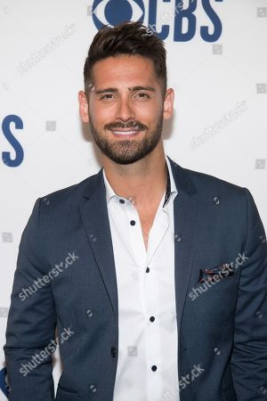 Jean-Luc Bilodeau attends the CBS 2019 upfront at The Plaza, in New York