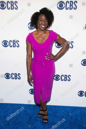 Ito Aghayere attends the CBS 2019 upfront at The Plaza, in New York
