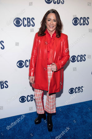 Patricia Heaton attends the CBS 2019 upfront at The Plaza, in New York