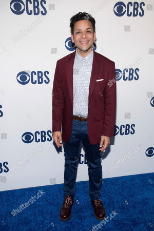 Izzy Diaz attends the CBS 2019 upfront at The Plaza, in New York