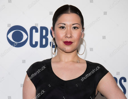 Ruthie Ann Miles attends the CBS 2019 upfront at The Plaza, in New York