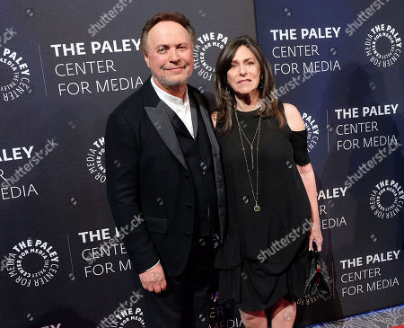 Stock Picture of Billy Crystal and Janice Crystal