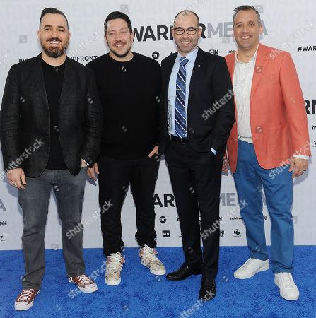Brian Quinn, Sal Vulcano, James Murray, Joseph Gatto