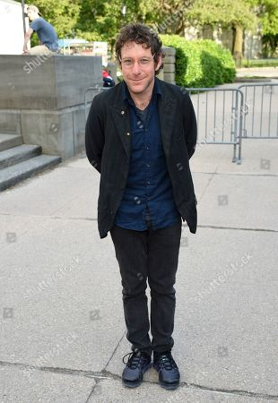 Stock Picture of Dustin Yellin attends the Statue of Liberty Museum opening celebration at Battery Park, in New York