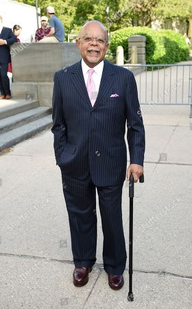 Henry Louis Gates Jr. attends the Statue of Liberty Museum opening celebration at Battery Park, in New York
