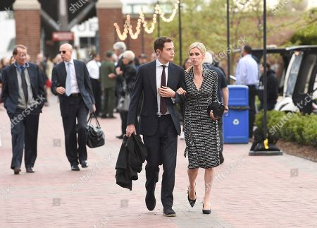 James Rothschild, Nicky Hilton Rothschild. James Rothschild, left, and wife Nicky Hilton Rothschild attend the Statue of Liberty Museum opening celebration at Battery Park, in New York