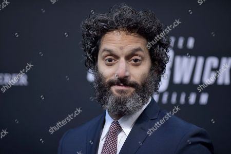 """Jason Mantzoukas attends a special screening of """"John Wick: Chapter 3 - Parabellum"""" at the TCL Chinese Theatre, in Los Angeles"""