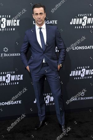 "Daniel Bernhardt attends a special screening of ""John Wick: Chapter 3 - Parabellum"" at the TCL Chinese Theatre, in Los Angeles"