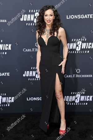 "Sofia Milos attends a special screening of ""John Wick: Chapter 3 - Parabellum"" at the TCL Chinese Theatre, in Los Angeles"