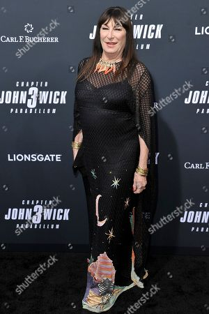 """Anjelica Huston attends a special screening of """"John Wick: Chapter 3 - Parabellum"""" at the TCL Chinese Theatre, in Los Angeles"""